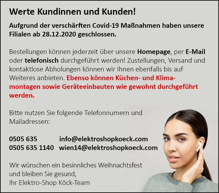 Elektro Shop Köck GmbH Miele Markenshop